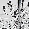 Gino sarfatti, ceiling lamp 2097/30.