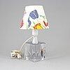 Josef frank, a glass table lamp.  firma svenskt tenn.