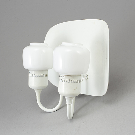 Hans-agne jakobsson, a two-light wall light, second half of the 20th century.