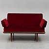 A 'minerva' sofa by peter hvidt & orla mølgaard nielsen, france & son, denmark, 1950s/1960s.