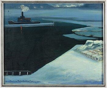Bertel Bertel-Nordström, oil on canvas, signed and dated 1940.