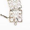 A sterling silver bracelet. n. westerback, helsinki.