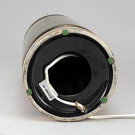 Bitossi, bordslampa, keramik, italien, 1960/70-tal.