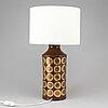 Bitossi, an italian ceramic table light, 1960's/70's.