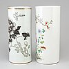 Two chinese vases, 20th century.