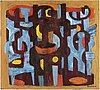 Bo beskow, oil on canvas, signed beskow.