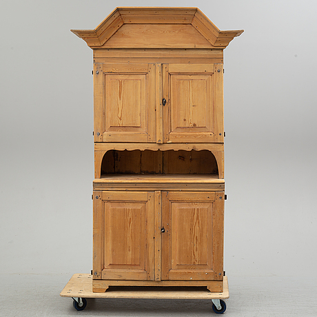 A 19th century cabinet.
