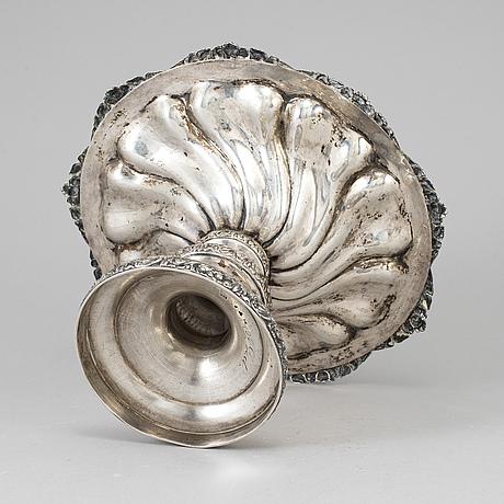 Adolf zethelius, a silver bowl, stockholm, 1938.
