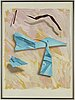 YrjÖ edelmann, lithograph, signed and numbered 41/150.
