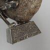 """Henry gustafsson, skulptur, """"lyftet"""". signerad, wimmerby tenn."""