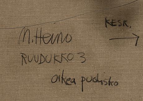 """Merja heino, """"gridno3""""."""