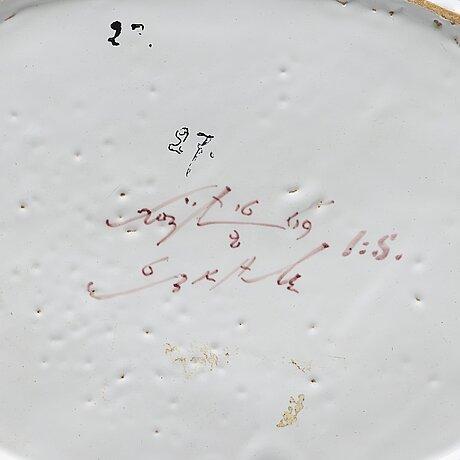 GallerskÅl, fajans. rörstrand, märkt 16/2 1769.