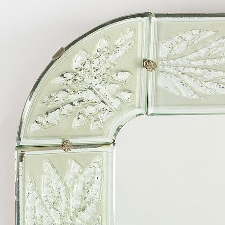 A swedish modern mirror, 1940's.