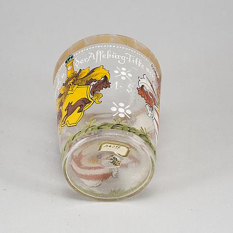 PraktbÄgare, glas. historismus, omkring 1900.
