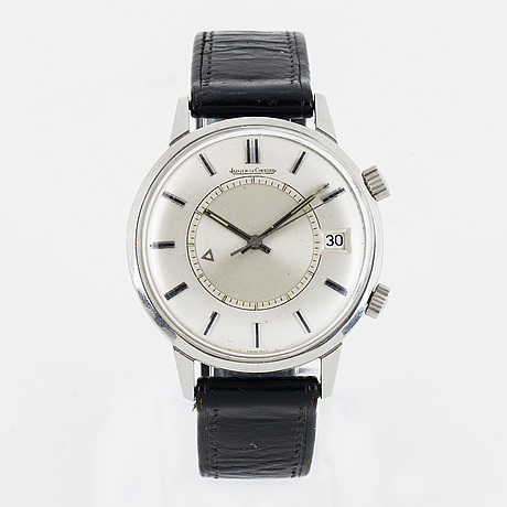Jaeger-lecoultre, memovox, wiristwatch, 37 mm.