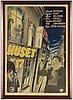 A lithographic movie poster, 'huset nr 17', borås kliché & litografiska a.-b., 1949.