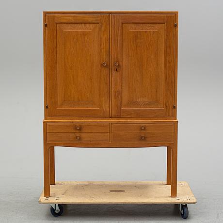 Carl malmsten, an 'oktober' oak cabinet.