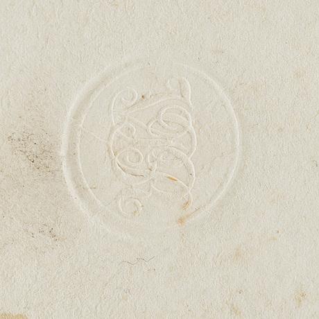 "Paolo mascagni, graverad plansch ur ""vasorum lymphaticorum corporis humani historia et ichnographia"" (siena 1787)."