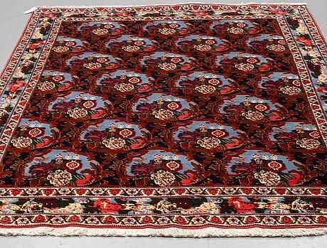 A rug, old persian, ca 287 x 202 cm.