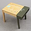 "Hella jongerius, a childrens table ' porcupine table"" vitra."