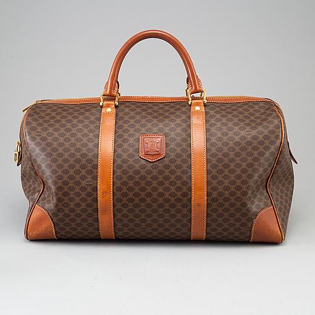 CÉline, väska, 'macadam duffel 45'.