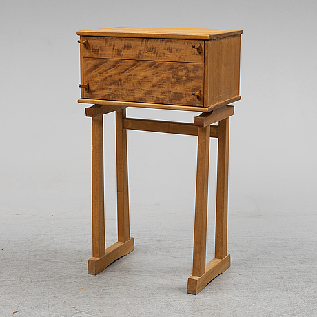 A chest of drawers in the manner of james krenov.