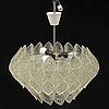 Ceiling lamp, second half of the 20th century.