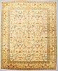 "Matta, figural tabriz , so called ""tabatabai"" , ca 354 x 289 cm."