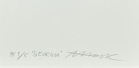 Andreas kock, fotografi, signerad och numrerad à tergo 1/5.