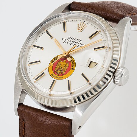 """Rolex, datejust, """"uae armed forces""""."""