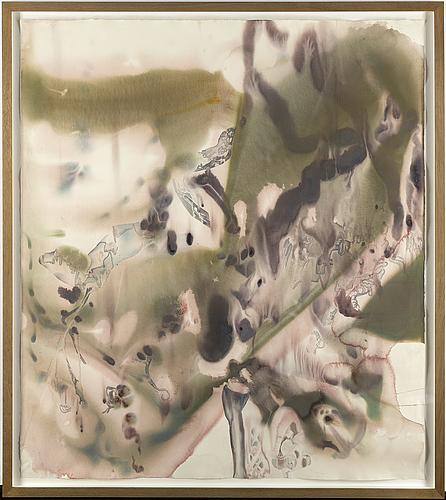 Erik jeor, water colour on paper.