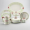 "A dinner service, 41 psc ""god jul"" / ""old gustavsberg"", gustavsberg, second half of the 20th century."