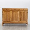 Svante skogh, a walnut sideboard later part of the 20th century.