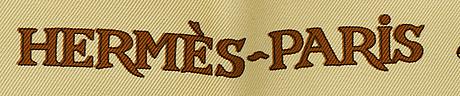 HermÈs, scarf design loïc dubigeon 1999.