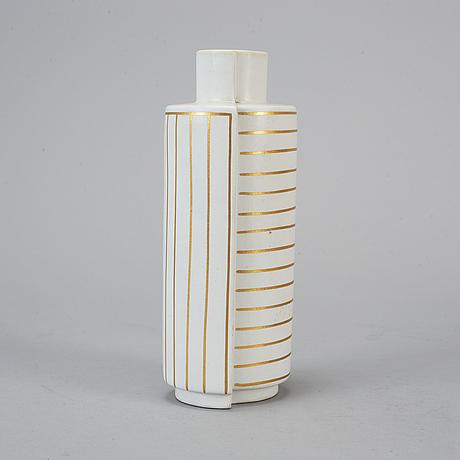 Wilhelm kÅge, a 'guldsurrea' stoneware vase, gustavsbergs studio.