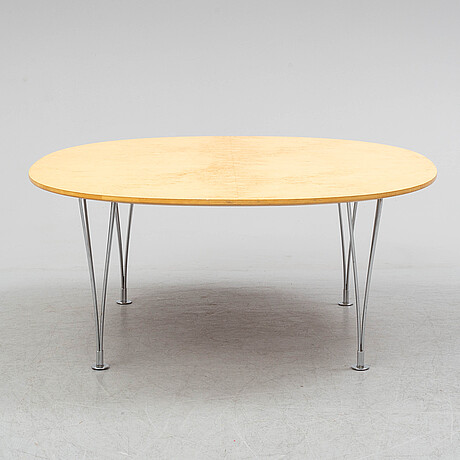 Bruno matthson & piet hein, a 'supercirkel' coffee table.