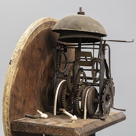 A swedish longcase clock, first half of the 19th century.