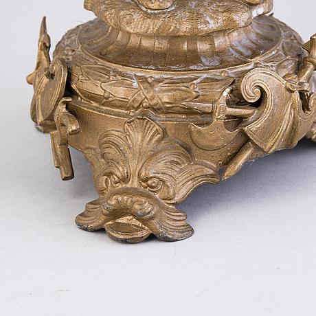 KynttelikkÖ, kuparimetalliseos, 1800-luvun loppu.