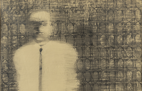 Roj friberg, pencil drawing, signed and dated -65.