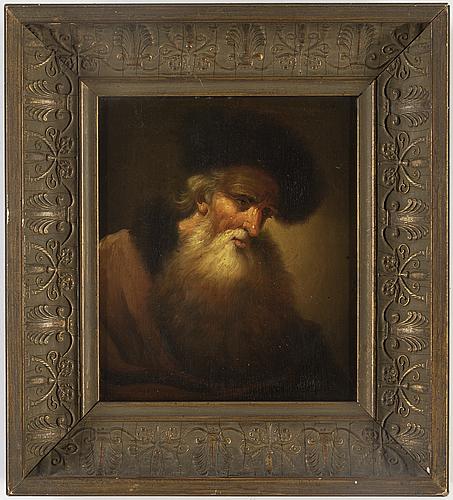 Christian wilhelm ernst dietrich, hans krets, olja på pannå.