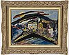 Uno vallman, oil on canvas, signed and dated -46.