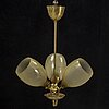 A mid-20th-century ceiling light.