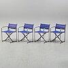 BÖrje lindau & bo lindekrantz,four 'x75-2' armchairs from lammhults.
