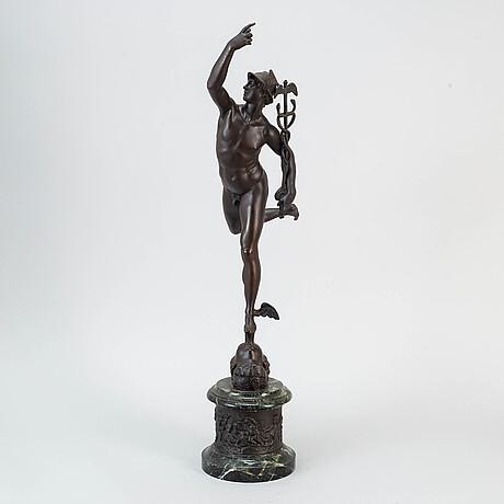 Giovanni bologna, after, sculpture, bronze.