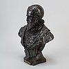 Émile louis picault, sculpture, bronze, signed.