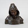 Unknown artist, 19th century, sculpture, bronze.