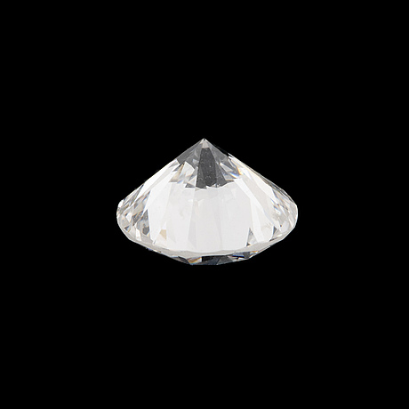 LÖs rund briljantslipad diamant 0.66 ct enligt certifikat.