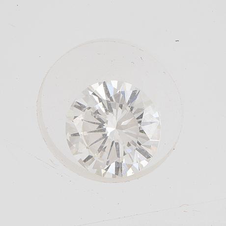 A diamond, brilliant cut, tw (f-g) /vvs2 1,05 ct.