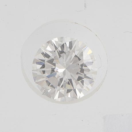 Diamond, brilliant cut, tw (f-g) / vs1 1.54 ct.
