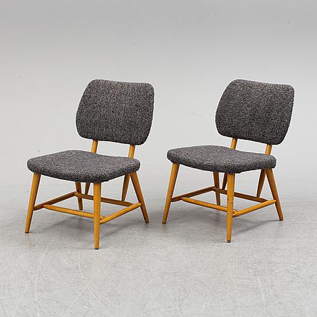 A pair of charis, engen, Örkelljunga, 20th century.
